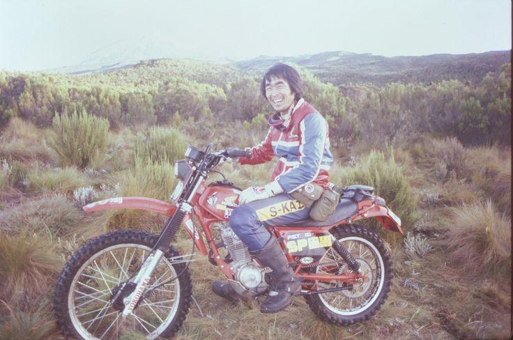 【1980年 キリマンジャロ】アフリカのキリマンジャロ(タンザニア-5,895m)のバイク登攀に挑む。