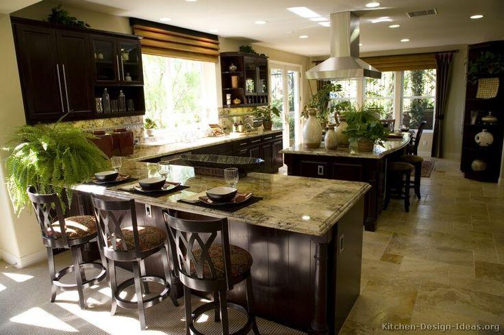 kitchens with dark cabinets - Bing Images: Dark Kitchens, Kitchens Photo, Kitchens Design, Dreams Kitchens, Wood Tile Floors, Dark Wood, Asian Kitchens, Photo Galleries, Kitchens Cabinets