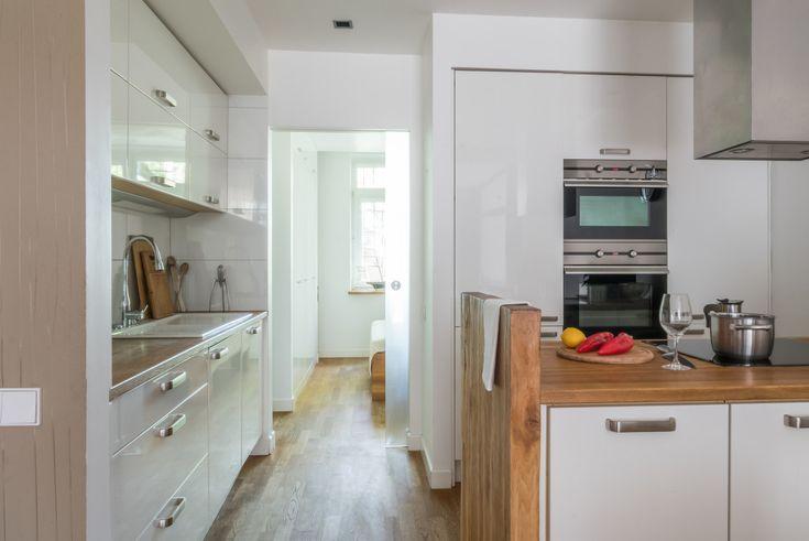 Mieszkanie na Żoliborzu - kuchnia