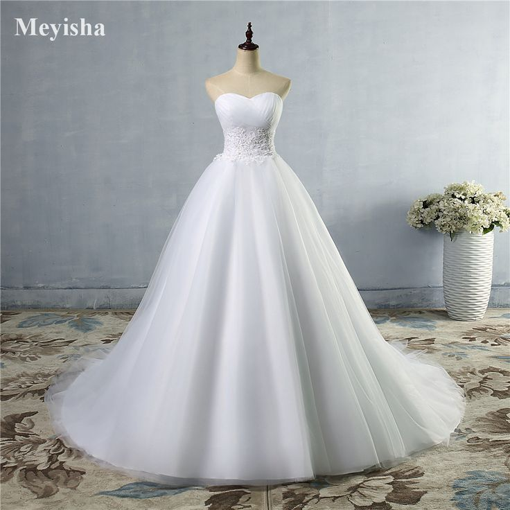 ZJ9008 Strapless White Ivory gown with Pearl Beads Wedding Dresses 2016 Bridal Gown plus size 2 4 6 8 10 12 14 16 18 20 22 24 26