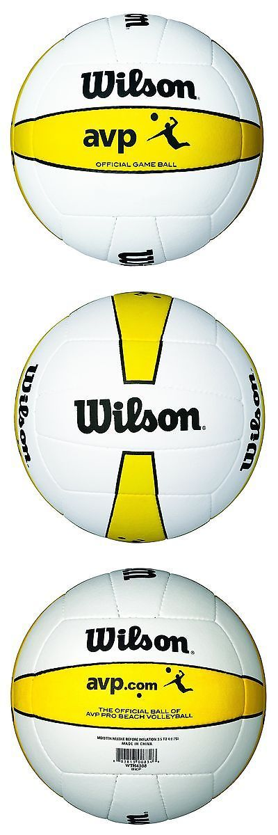 Volleyballs 159132: Wilson Official Avp Outdoor Game Volleyball -> BUY IT NOW ONLY: $51.13 on eBay!