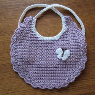 Pretty Bib- make small ones for drool bibs, line the back