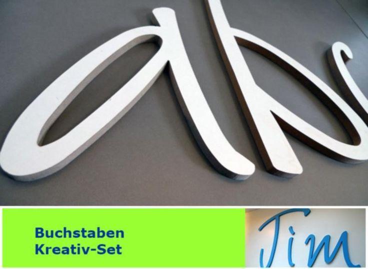 Wandtattoo von PAULSBECK Buchstaben, Dekoration & Geschenke auf DaWanda.com