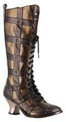 These are my Steamy boots, I love them!Steampunk Boots, Cowboy Boots, Knee High Boots, Dome Boots, Knee Boots, Knee Highs, Hades Dome, Boots Hades, Dome Brown