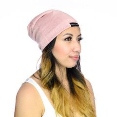 Pink Slap | Satin Lined Cap