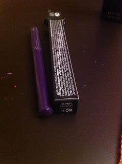 VOX MakeUp - Make Up, Cosmetici, Prove e Swatch di Trucchi Vari : Super Colour Eyeliner Kiko 109 Viola Geranio Perlato
