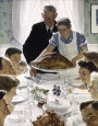 The Real Thanksgiving Freedom from Want - Norman Rockwell
