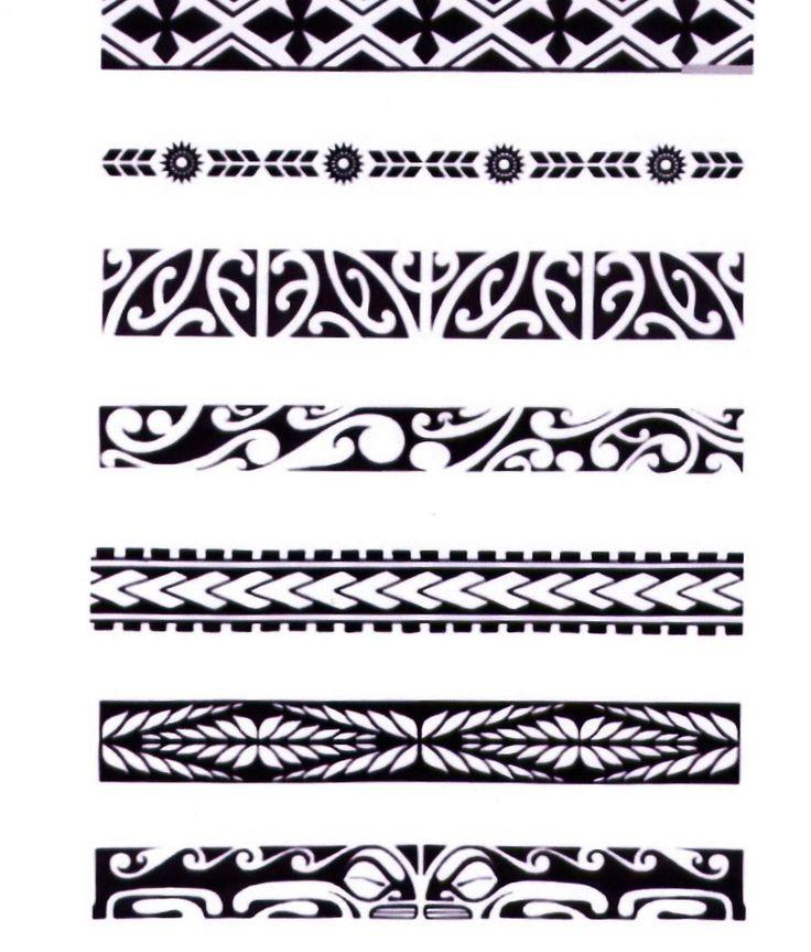 hawaiian-tribal-armband-tattoos.jpg (1163×1364)