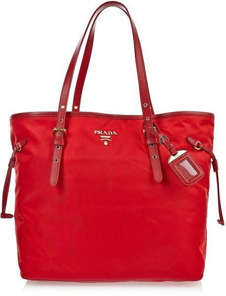 65f8eb7f1d9a Prada Bag in Red | Lyst #Pradahandbags #cheappradabags | Wallets