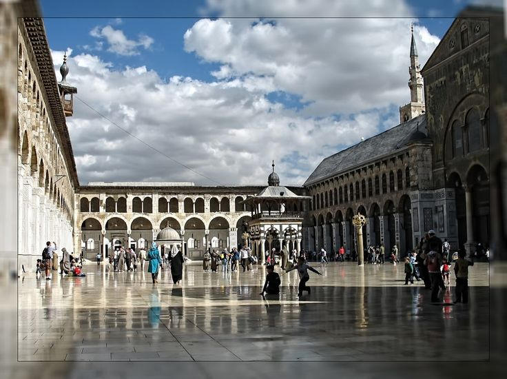The Umayyad Mosque of Damascus « Islamic Arts and Architecture