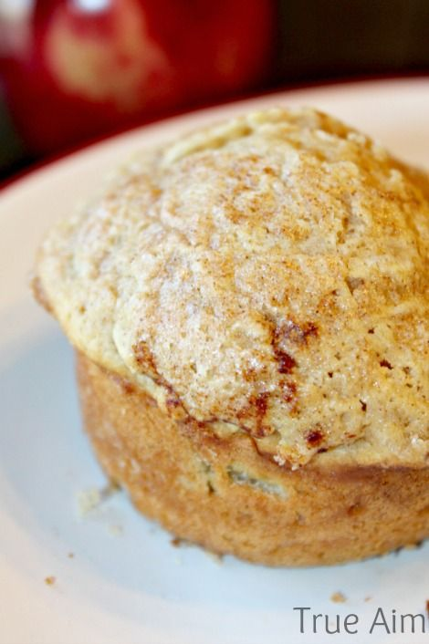 Apple Cinnamon Muffins - Tastes like apple pie! #WinCoCerealDeals