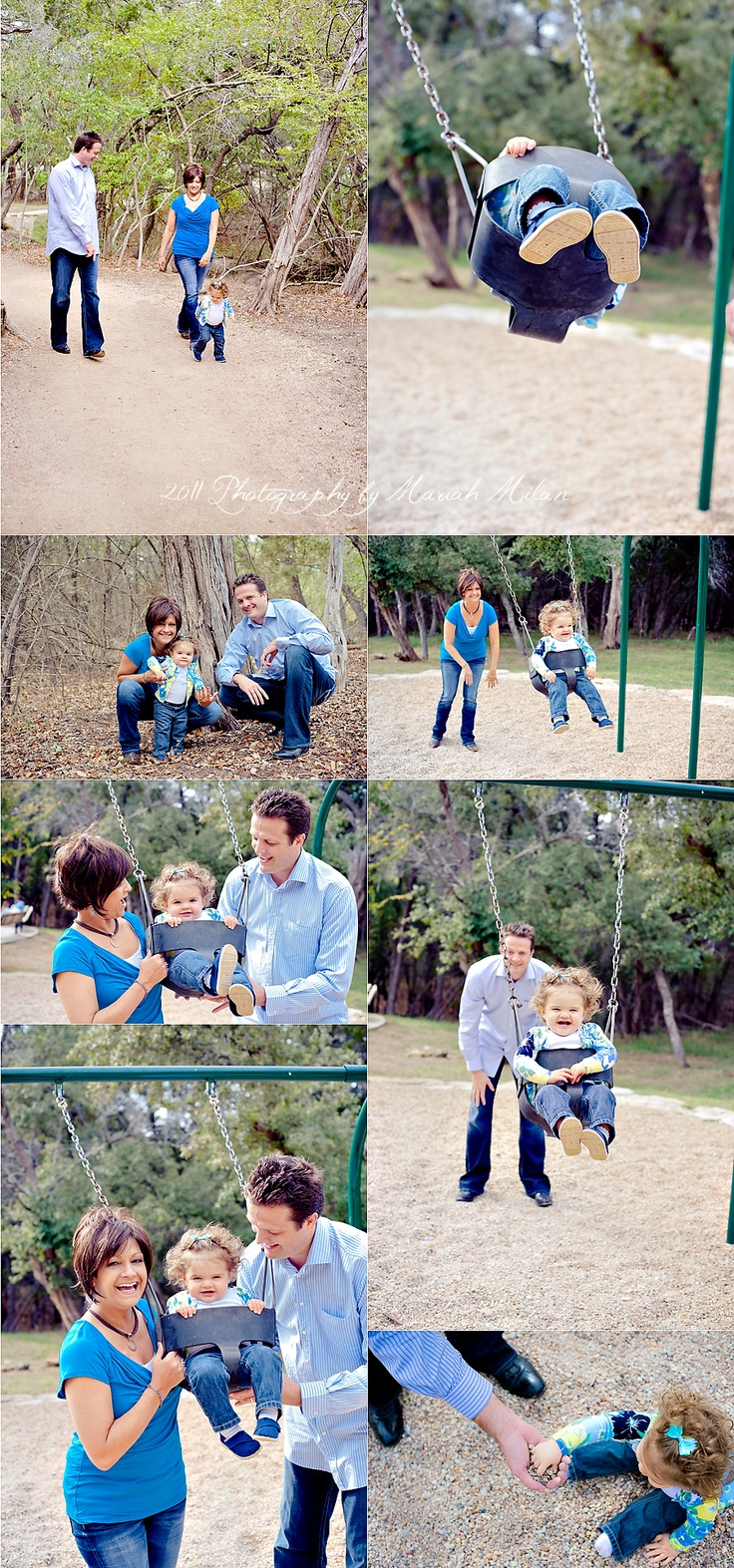 what a great idea for a family photo shoot!