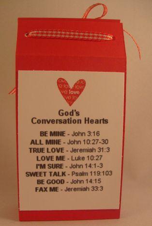 God's Conversation Hearts!
