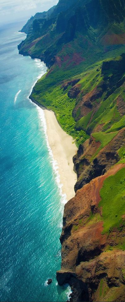 Waimea Canyon, Kauai, Hawaii http://www.beautifulvacationspots.com/
