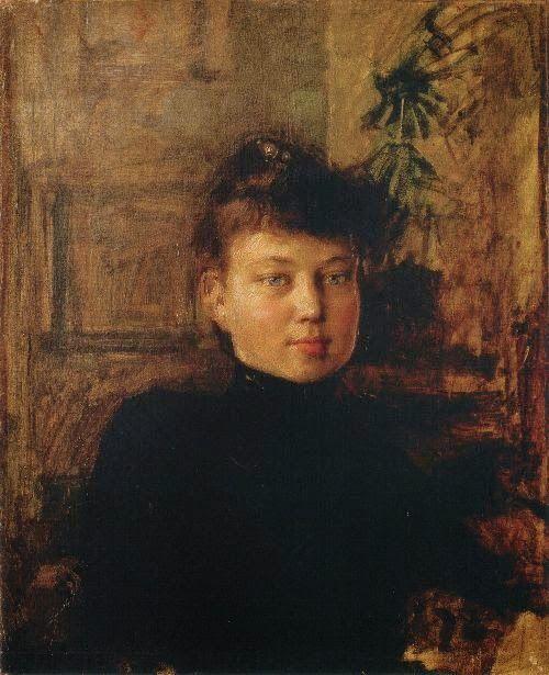 Akseli Gallen-Kallela (26 aprilie 1865 - 7 martie 1931), pictor şi grafician finlandez - Portrait of Mary Sloor