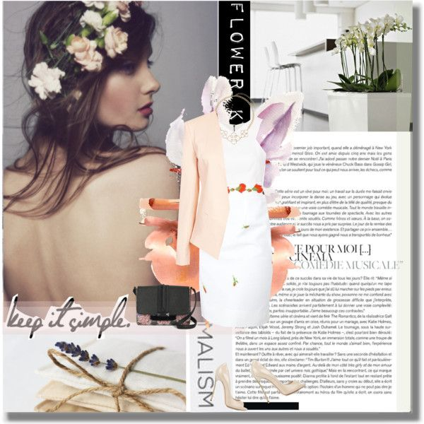 Flower Kiss - Simply Chic, created by thisislettie on Polyvore
