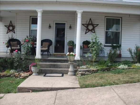 Front Porch Decorating Ideas Summer Front Porch In