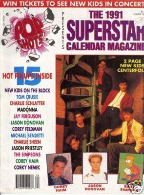 79e51f074a7 Winter 1991 Pop Shots - JASON DONOVAN CHARLIE SCHLATTER in 2019 ...