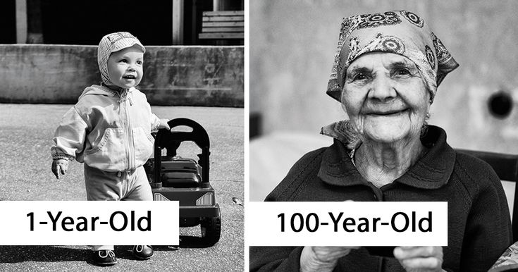 100 Years Project: Photographer Captures Portraits And Dreams Of People From 1 To 100 Years Of Age: