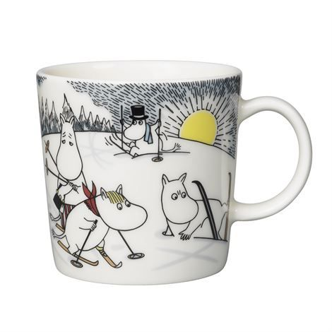 Christmas 2014 arabia moomin mug (in the post)