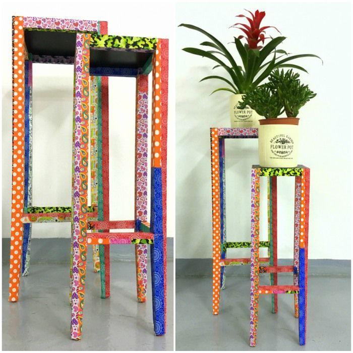 Te-ai saturat de obiectele decorative pe care le ai in casa si doresti sa le dai un aspect nou? Reinprospateaza-ti locuinta cu elemente decorate cu ajutorul benziii adezive decor! ✂️