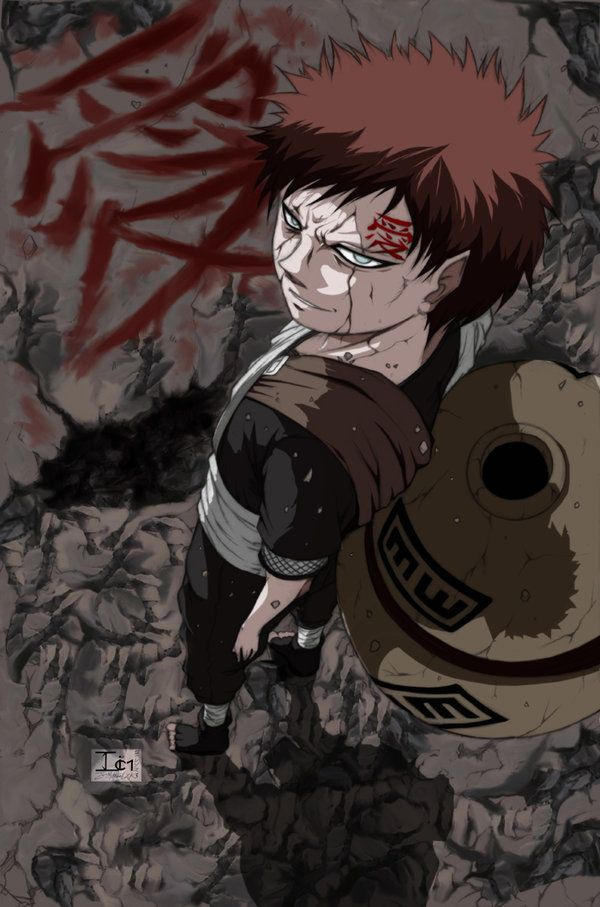 Here is THE most successful piece I have done so far IN MY LIFETIME, I am not kidding I was shocked myself when I finished it!! Gaara from Naruto series, a piece for CON NO BAKA convention Nov 25-2...