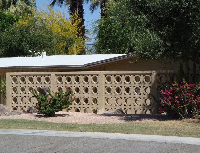 Mid Century Modern Wall Screens and Decorative Screen Blocks | modern design by moderndesign.org