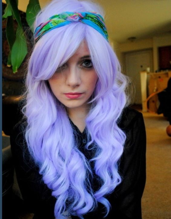 LOVE this color!!! couldn't dye my hair because of my job this color but its gorgeous.