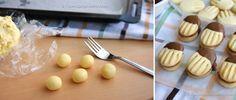 Domáce maslové sušienky máčané v čokoláde: Podobajú sa lineckým, hotové ich máte za pár minút a chutia vynikajúco