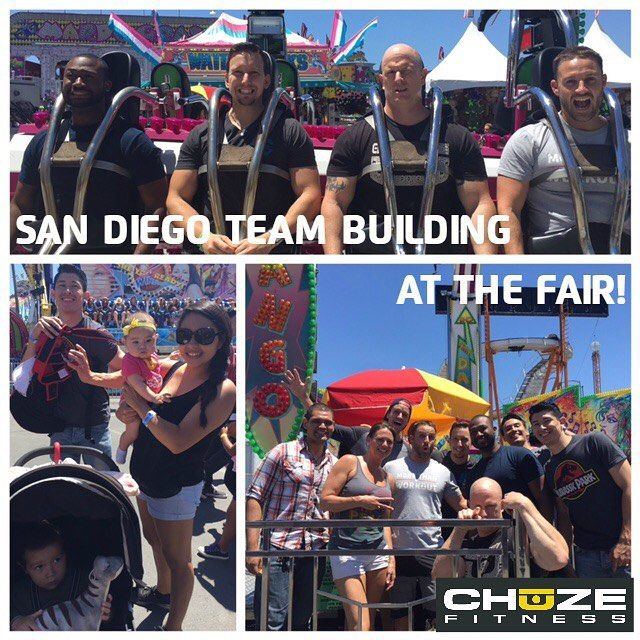 Our San Diego team is having a great day of team building at the fair! So thankful for this gorgeous weather, and our amazing company culture! 💪  #chuzefitness #chuze #culture #teambuilding #team #sandiego #fitness #denver #denverco #sd #sdfair #california #instalike #instalove #instadaily #fitfam