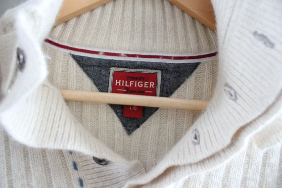 Tommy Hilfiger Sweater White Cotton Sweater White by Amilialia