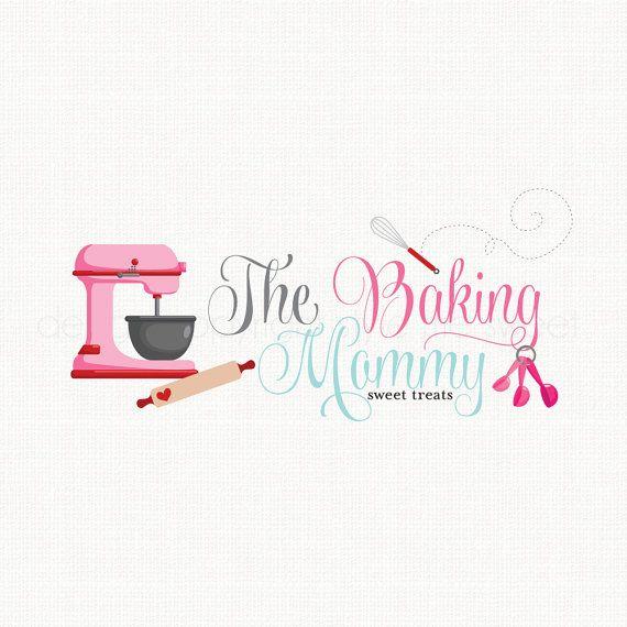 Mixer logo design bakery logo design whisk logo design measuring spoon logo baking logo design cake shop logo bakers logo bespoke logo