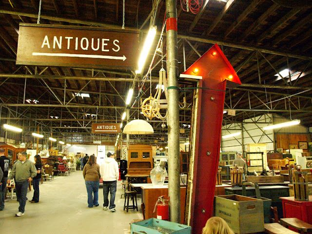 Tobacco Barn Antiques in Asheville, NC