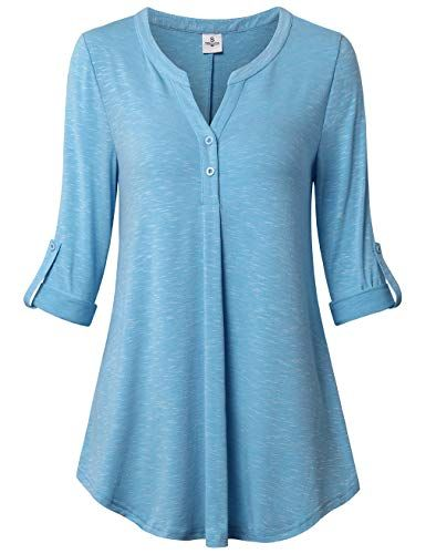 37c075600da163 Pin by Amy Clark Bahr on Gifts | Tunic tops, Henley shirts, Cuff sleeves