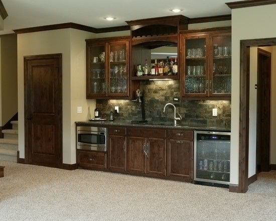 Basement bar ideas pinterest - Basement kitchen and bar ideas ...