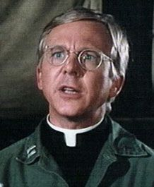 M*A*S*H  - William Christopher is an American actor who is best known for playing Father Mulcahy on the television series M*A*S*H