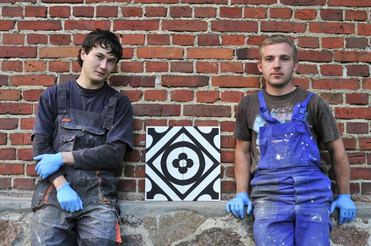 Tile Makers. #purpura #cementtiles