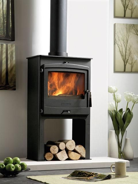 Portway 2, Multi-fuel Stove, Charcoal, High Legs