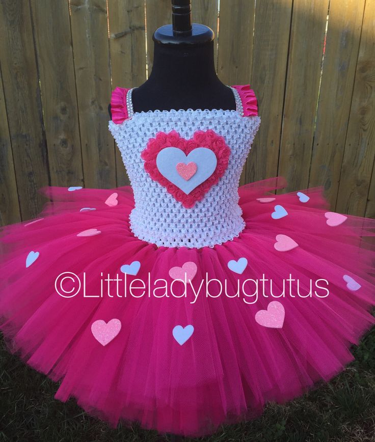 Little Sweetheart Valentines Day Girls Tutu Dress