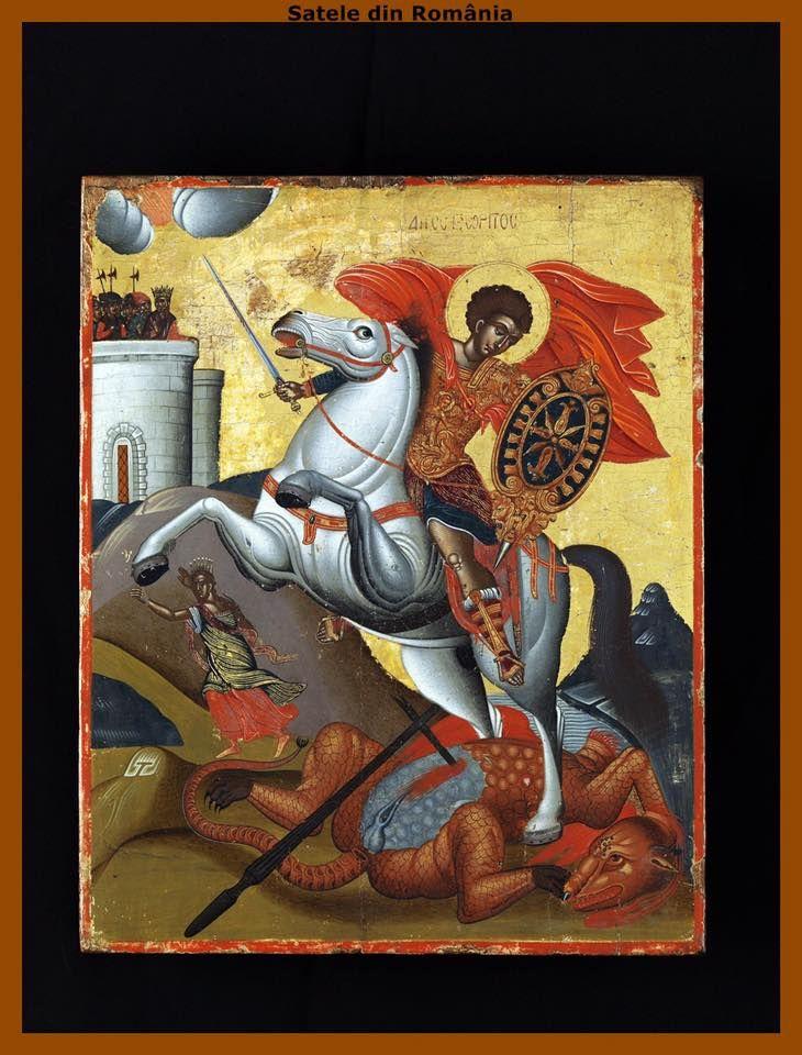 Αγ.Γεωργιος Ο Μεγαλομαρτυρας Και Τροπαιοφορος (275 - 303)___april 23
