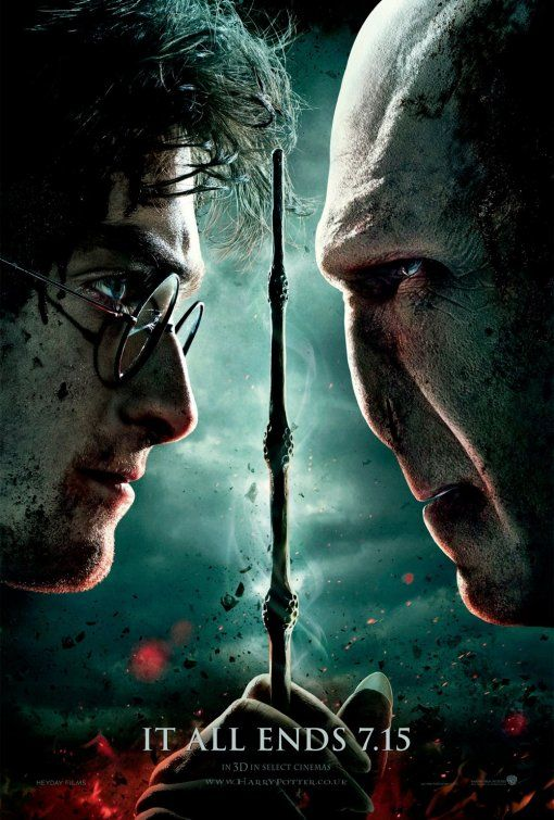 Harry Potter and the Deathly Hallows: Part 2. I grew up with these movies. So many mixed feelings now that I'm older♥