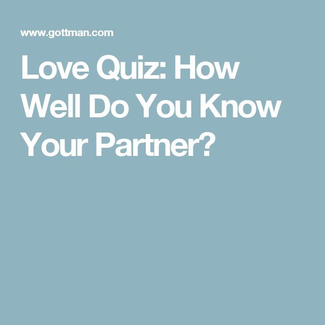 How Well Do You Know Your Spouse: Best 25+ Couples Quiz Ideas On Pinterest