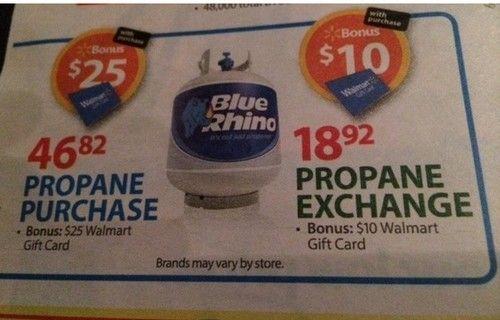 WALMART: Propane Exchange ONLY $2.92 (reg. $18.92!!)