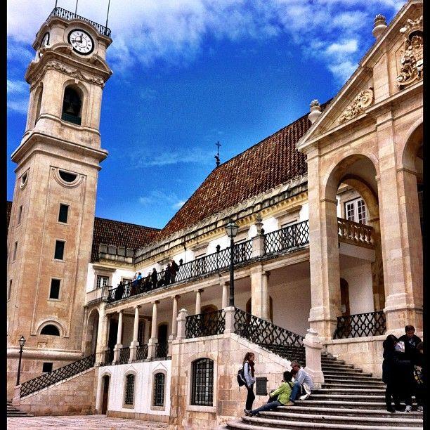 Universidade de Coimbra Photo by turistaprofissional #Portugal
