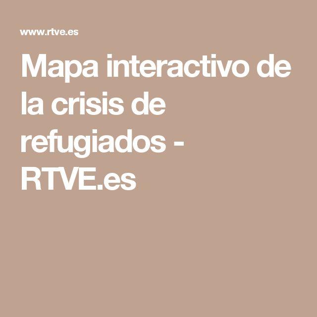 Mapa interactivo de la crisis de refugiados - RTVE.es