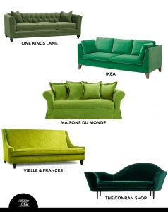 sofá-de-terciopelo-verde-comprar