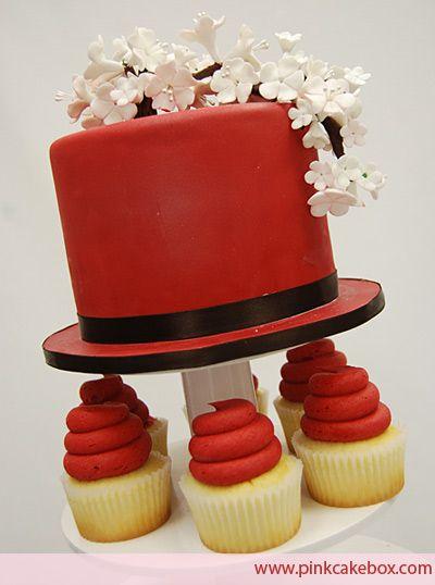 wedding cupcake fondant - Google Search