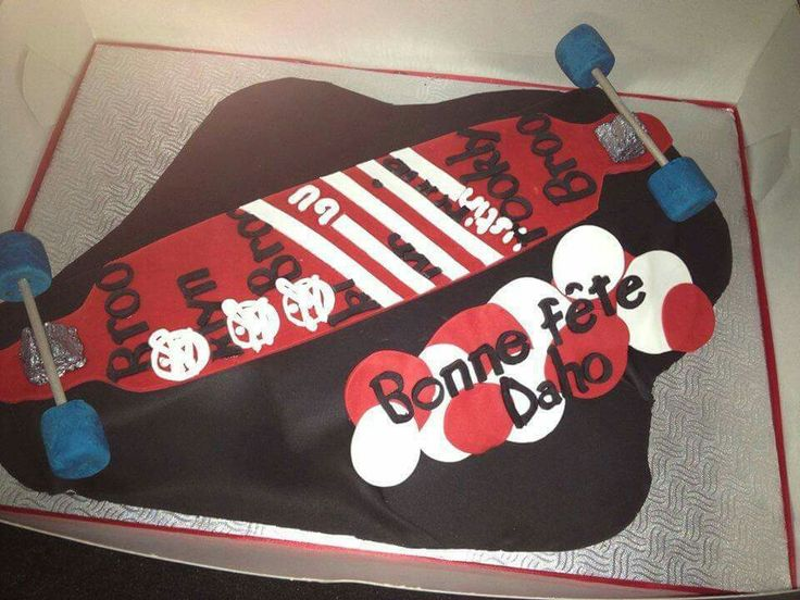 Longboard cake