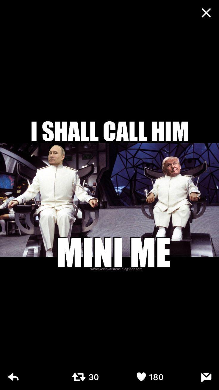 Funny Trump & Putin meme
