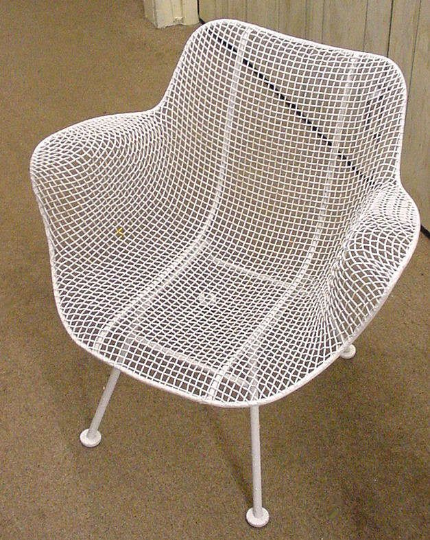 Vintage Metal Mesh Chairs | Century Modern Chairs Like This Online Like  These Woodard Chairs